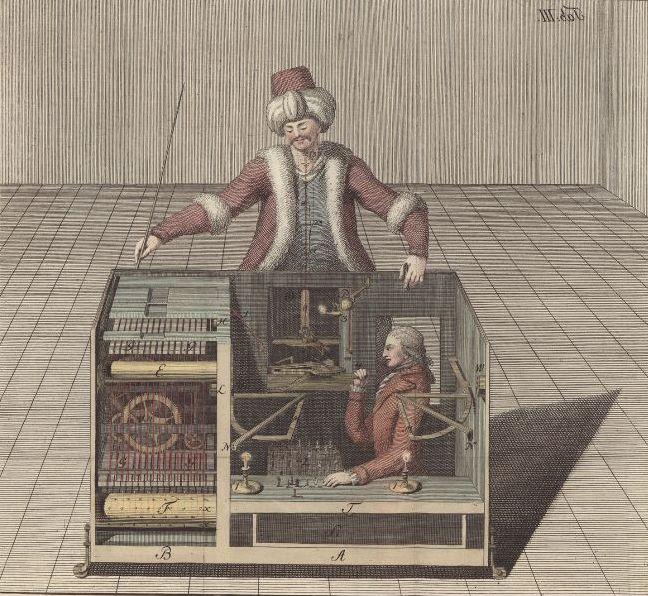 Ein scheinbarer Schachroboter von 1769