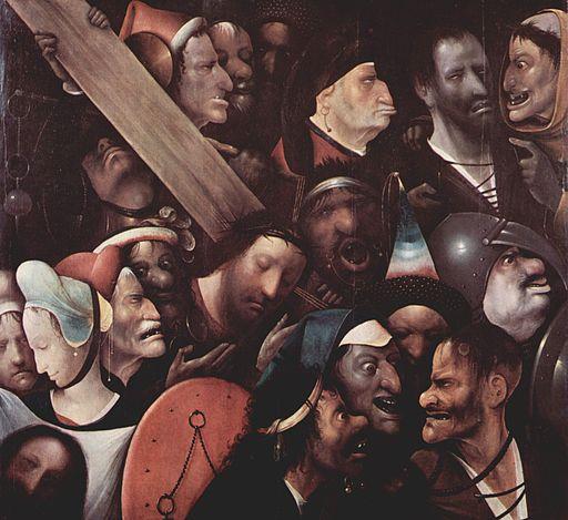 Bild von der Kreuzigung Christi