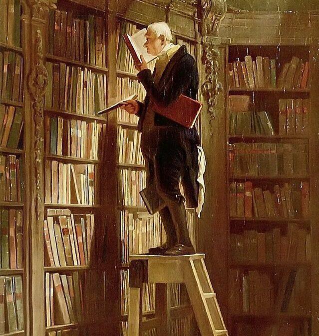 Carl Spitzweg: Der Bibliothekar.